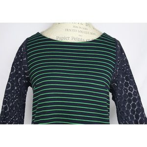 Anthropologie Tops - Anthropologie 9-H15 STCL Postmark Striped Blouse S